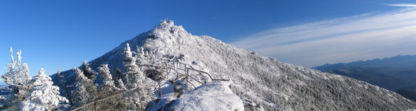 Montagne figée Image stock