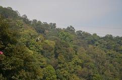Montagne Forest Cable Car de Baiyun images stock