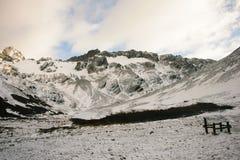 Montagne fredde Fotografia Stock Libera da Diritti
