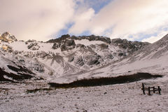 Montagne fredde Immagine Stock Libera da Diritti
