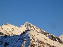 Montagne froide Image libre de droits