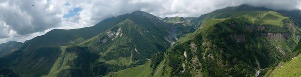 Montagne in Georgia Immagini Stock