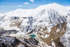 Montagne georgiane Immagini Stock Libere da Diritti