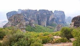 Montagne greche fotografia stock libera da diritti