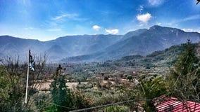 Montagne greche Immagine Stock