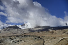 Montagne himalayane Fotografia Stock