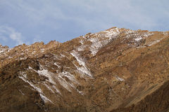 Montagne himalayane in Ladakh fotografia stock libera da diritti