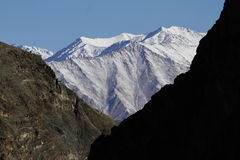 Montagne himalayane in Ladakh, India Fotografie Stock Libere da Diritti