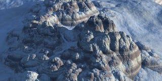 Montagne ibride Immagine Stock