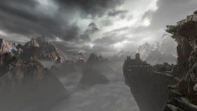 Montagne illustrazione vettoriale