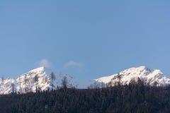 Montagne invernali - Austria Fotografia Stock