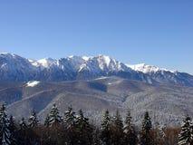 Montagne in inverno Fotografia Stock Libera da Diritti