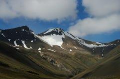 Montagne in Islanda Immagini Stock