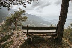 Montagne italiane delle alpi delle dolomia Immagini Stock