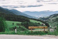 Montagne italiane delle alpi delle dolomia Fotografia Stock Libera da Diritti