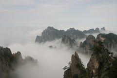 Montagne jaune 3, Chine Images libres de droits