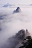 Montagne (jaune) de Huangshan Images libres de droits