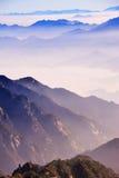 Montagne (jaune) de Huangshan Photo libre de droits