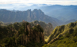 Montagne jaune (Huang Shan) Photo stock