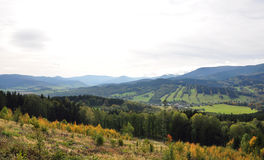 Montagne - Jeseníky Fotografia Stock Libera da Diritti