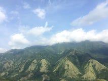 Montagne jumelle Image libre de droits