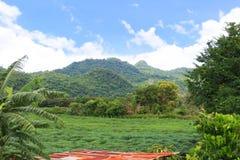 Montagne, kao yai Photo libre de droits