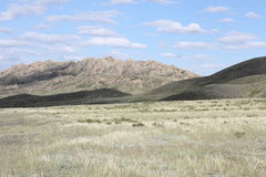 Montagne in Kazakhstan Fotografie Stock
