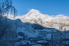 Montagne Kazbek Images stock