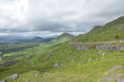Montagne in Kerry Irlanda Fotografie Stock Libere da Diritti