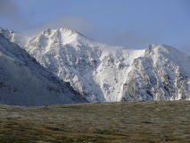 Montagne Kyzyl-taiga, les montagnes occidentales de Sayan Photos libres de droits