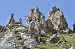 Montagne a La Plagne in Francia Immagine Stock Libera da Diritti