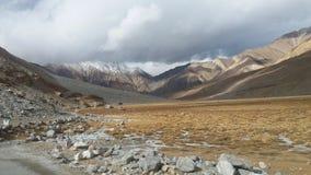 Montagne in Ladakh Fotografia Stock