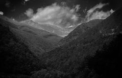 Montagne maestose fotografia stock libera da diritti
