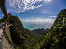 Montagne malesi immagini stock