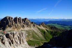 Montagne meravigliose della dolomia scenry/paesaggio alpino/grande vista Immagini Stock