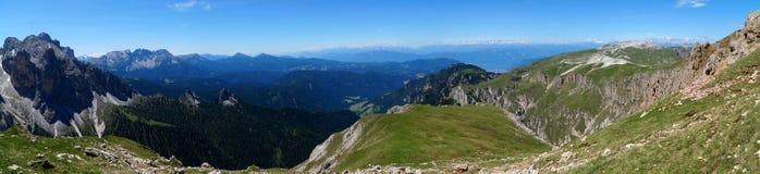 Montagne meravigliose della dolomia scenry/paesaggio alpino/grande vista Immagine Stock Libera da Diritti