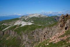 Montagne meravigliose della dolomia scenry/paesaggio alpino/grande vista Immagine Stock