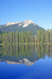 Montagne minute del dente di sega e del lago, Idaho Fotografia Stock Libera da Diritti