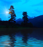 Montagne misteriose Fotografie Stock