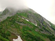 Montagne molto belle, montagne verdi Immagine Stock Libera da Diritti