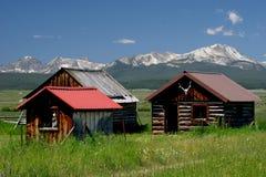 Montagne Montana di Bitterroot Fotografia Stock Libera da Diritti