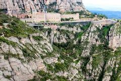 Montagne Montserrat Images libres de droits