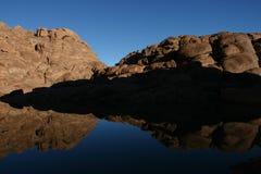 Montagne Mt Sinai Images libres de droits