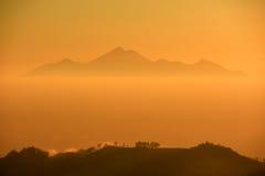 Montagne mystérieuse Photos libres de droits