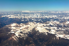 Montagne Népal de l'Himalaya Photo stock