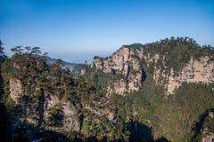 Montagne nazionali di Zhangjiajie Forest Park del Hunan Immagine Stock