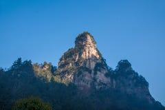 Montagne nazionali di Zhangjiajie Forest Park del Hunan Immagini Stock
