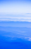Montagne nel cielo fotografie stock libere da diritti