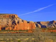 Montagne nel deserto dell'Arizona Fotografie Stock Libere da Diritti