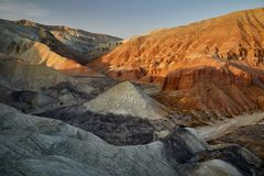 Montagne nel deserto immagini stock